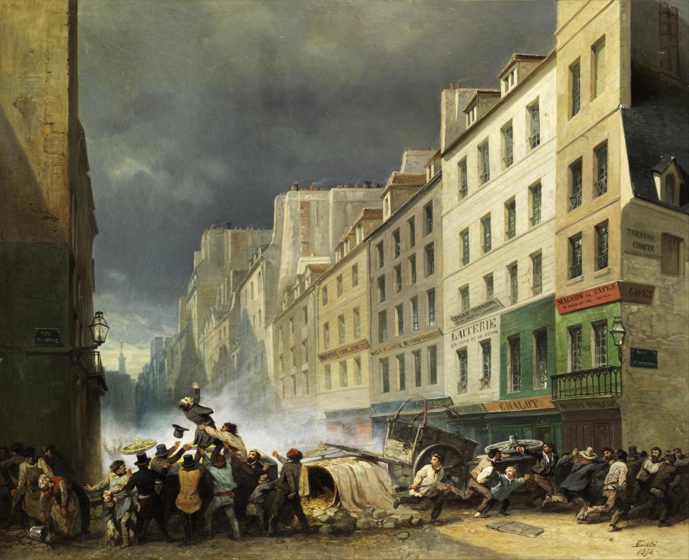 Nicholas-Edward Gabé (1814–1865): Juli-Revolution 1830