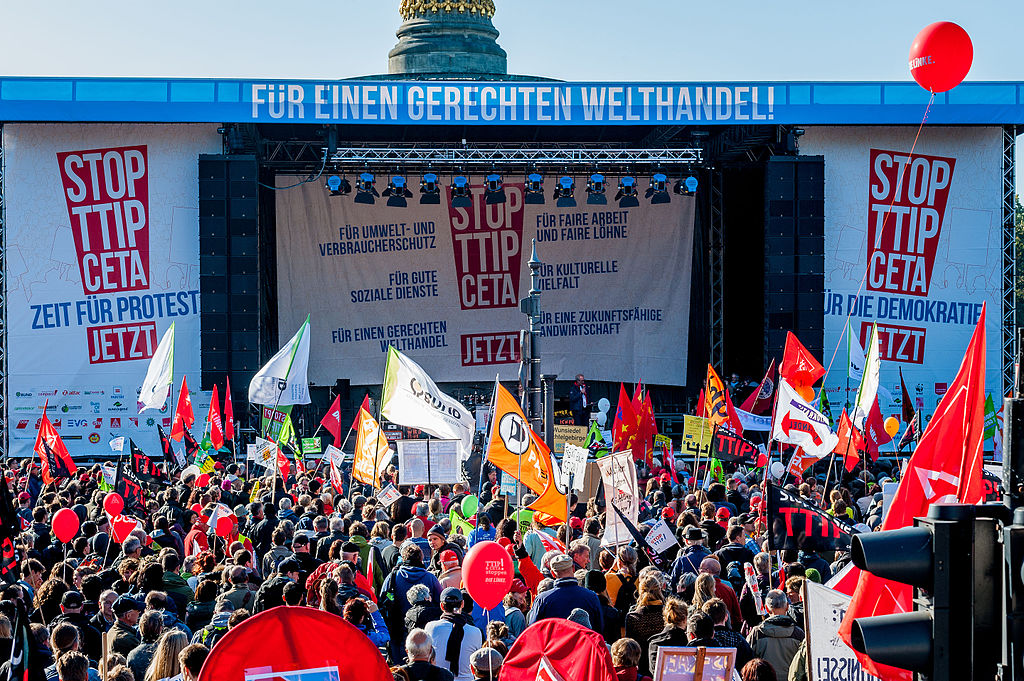 Foodwatch, STOP TTIP CETA 10.10.2015 Berlin