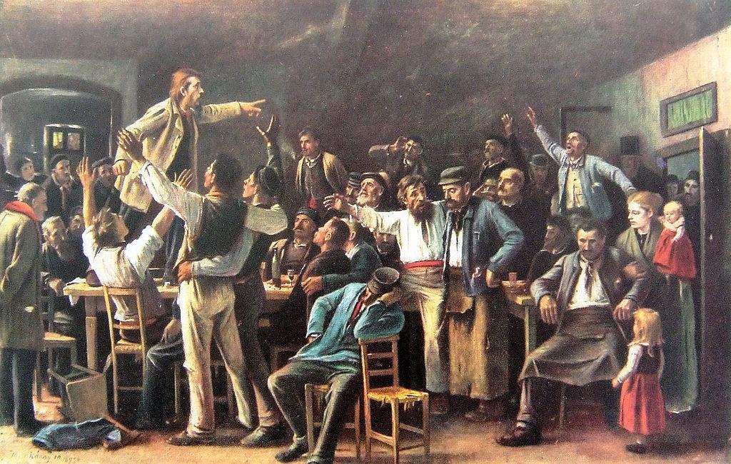 Munkácsy Sztrájk 1895